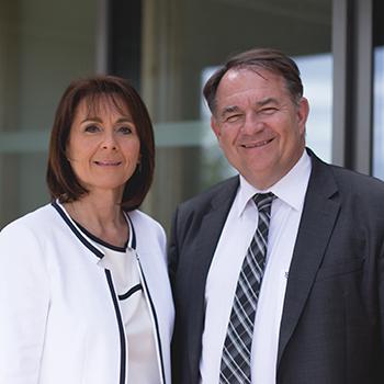 Natalie Voisin et Thierry Degorge